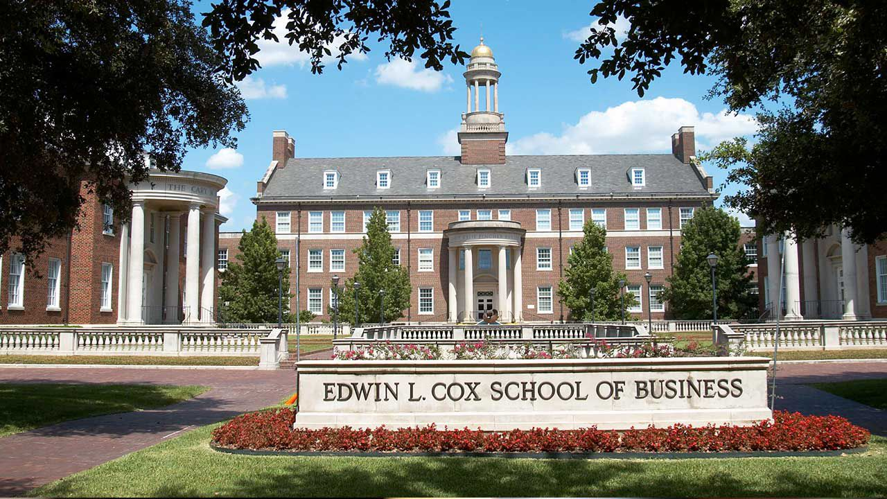 The Edwin L. Cox School of Business at Southern Methodist University in Dallas.