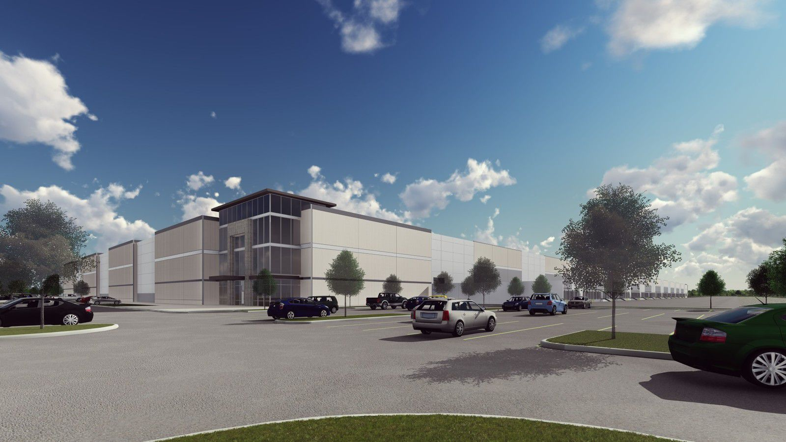 Tempur Sealy is working on a new distribution center in Trammell Crow's Passport Park project.