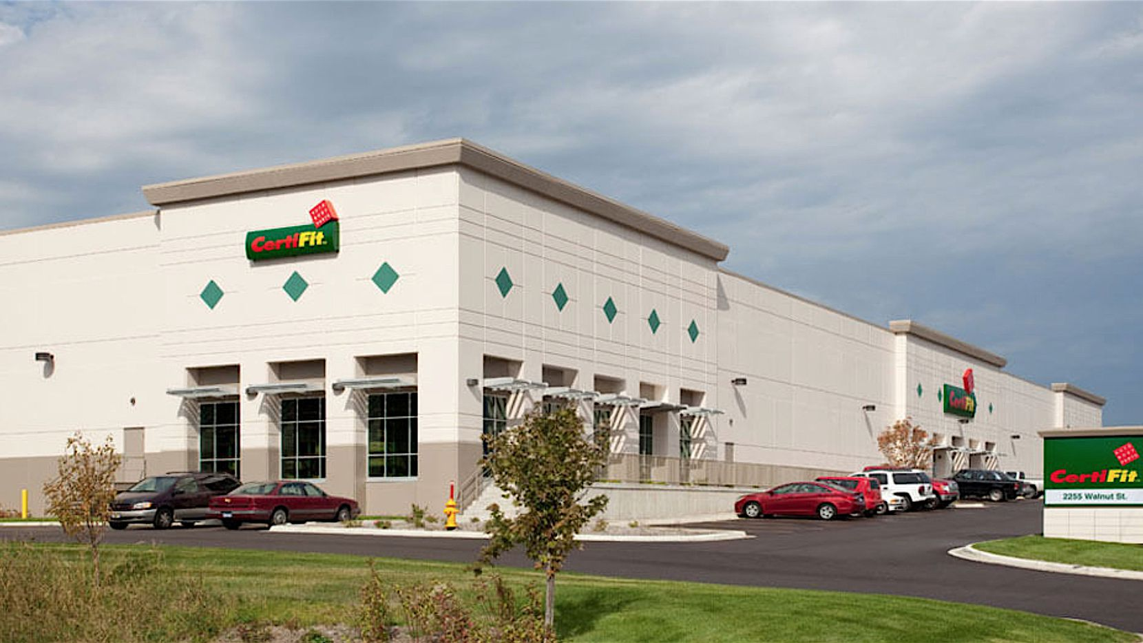 Salt Lake-based CertiFit recently added this office and warehouse building in Minnesota.