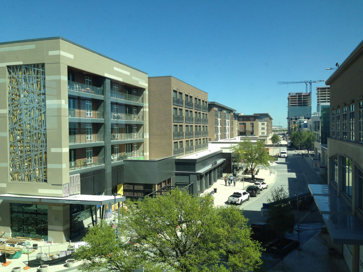 The $400 million Legacy West Urban Village opens in June.