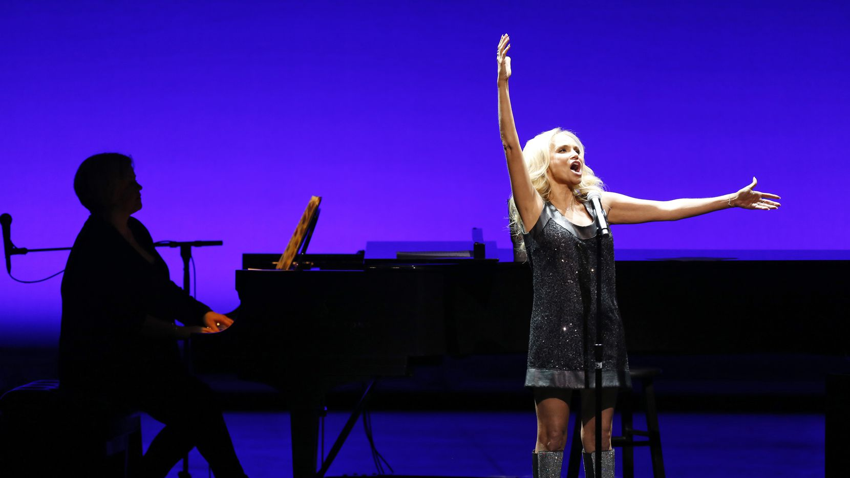 Kristin Chenoweth sings during her performance at Winspear Opera House in Dallas in 2017.