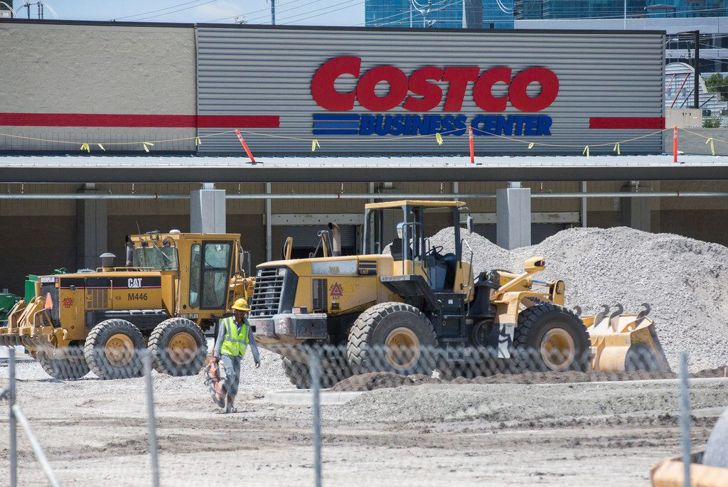 Costco Business Center is under construction on Park Lane in Dallas.
