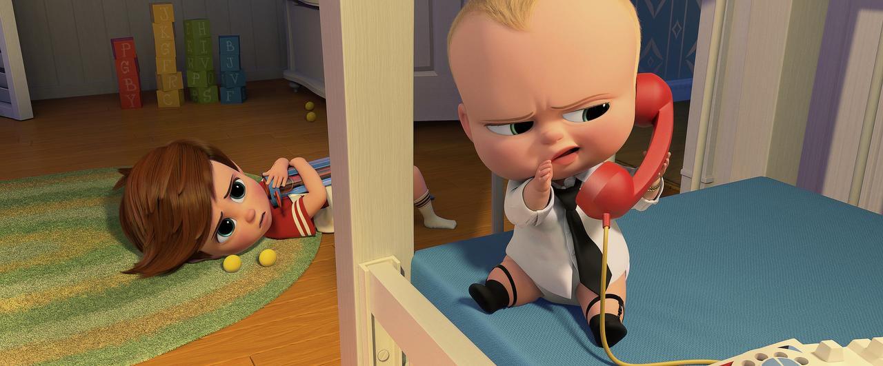 Alec Baldwin pone su voz para Boss Baby en el nuevo filme animado de DreamWorks(DreamWorks Animation)