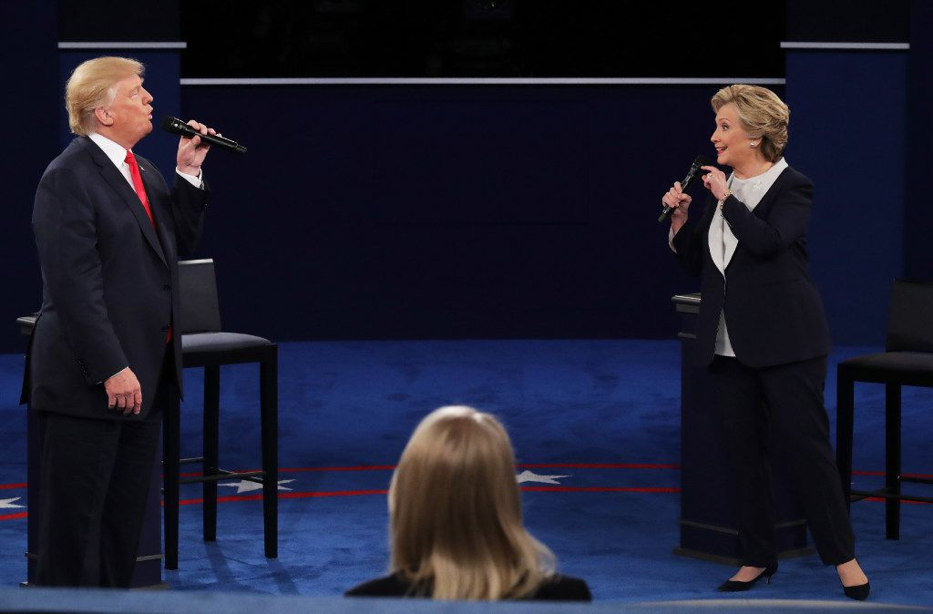 Donald Trump and Hillary Clinton were the combatants, but there were plenty of other winners and losers in Sunday night's debate.  (Chip Somodevilla/Getty Images)
