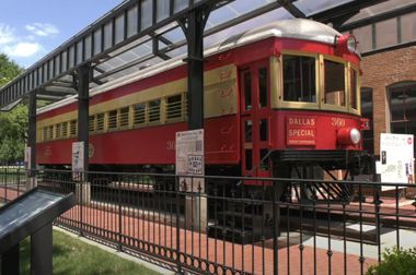The freshly restored railcar dates back to 1911 and is the centerpiece of the free Plano's Interurban Railway Museum.