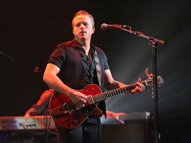 Jason Isbell performs at the Bomb Factory in 2018.