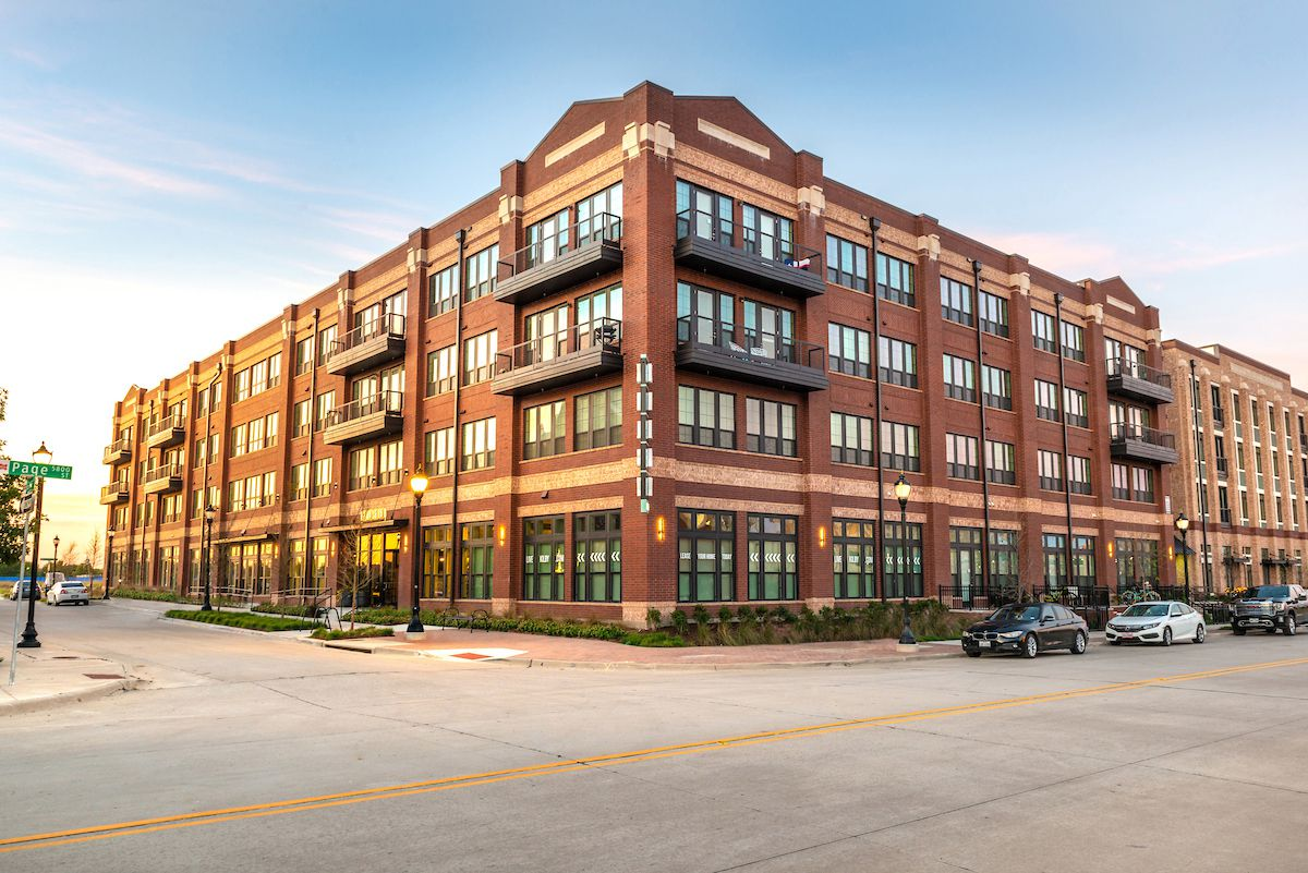 Toll Brothers recently opened the Kilby apartments in the Frisco Square mixed-use development.