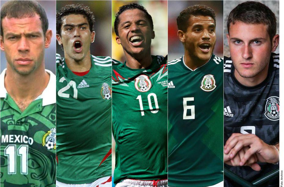Zague, Nery Castillo, los hermanos Giovani y Jonathan Dos Santos, y Santiago Giménez son hijos de extranjeros que han jugado con la selección mexicana.