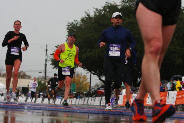 El maratón de Dallas será este domingo 15 de diciembre de 2019.