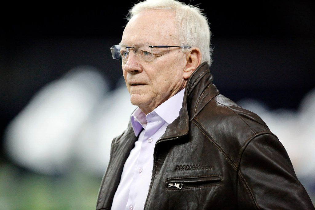 FILE - Cowboys owner Jerry Jones watches a practice at The Star in Frisco on Wednesday, Jan. 2, 2019. (Tom Fox/The Dallas Morning News)