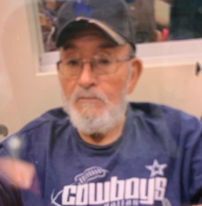 Estanisalo Garza, 80, of Dallas was last seen Friday, Mar. 6, 2020, in the 2200 block of Andrews Street.