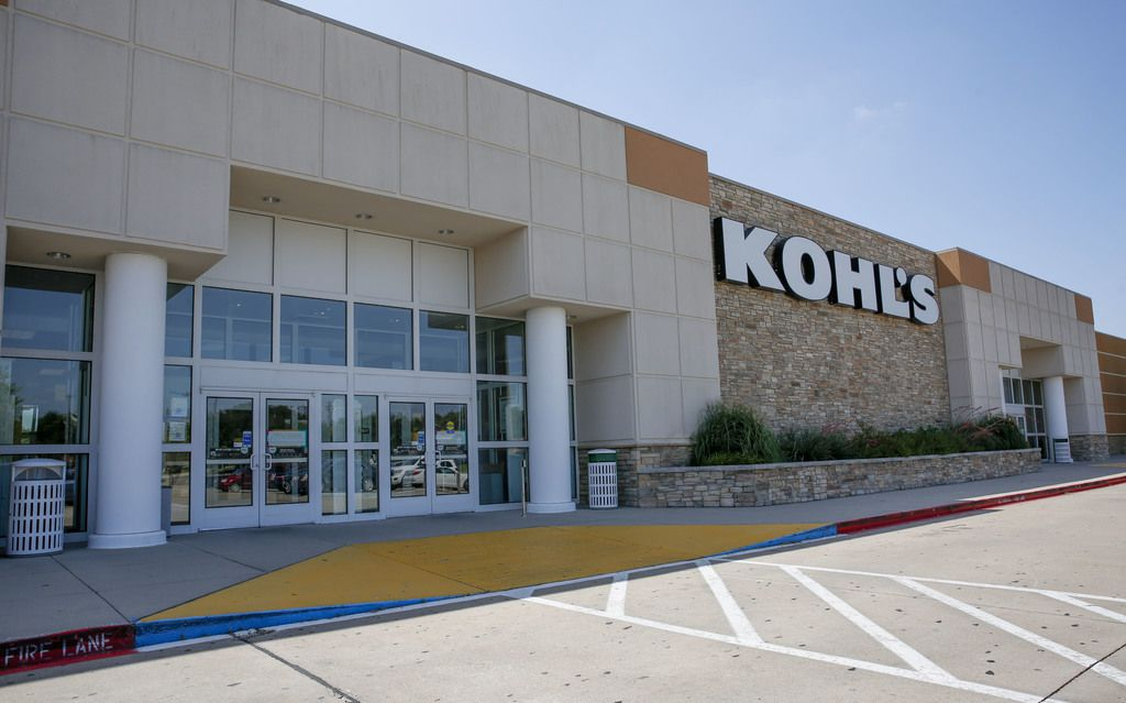 Exterior view of the Kohl's department store at Medallion Center on Skillman in Dallas last summer before the retailer turned over one end of the building to Planet Fitness. (Brian Elledge/The Dallas Morning News)