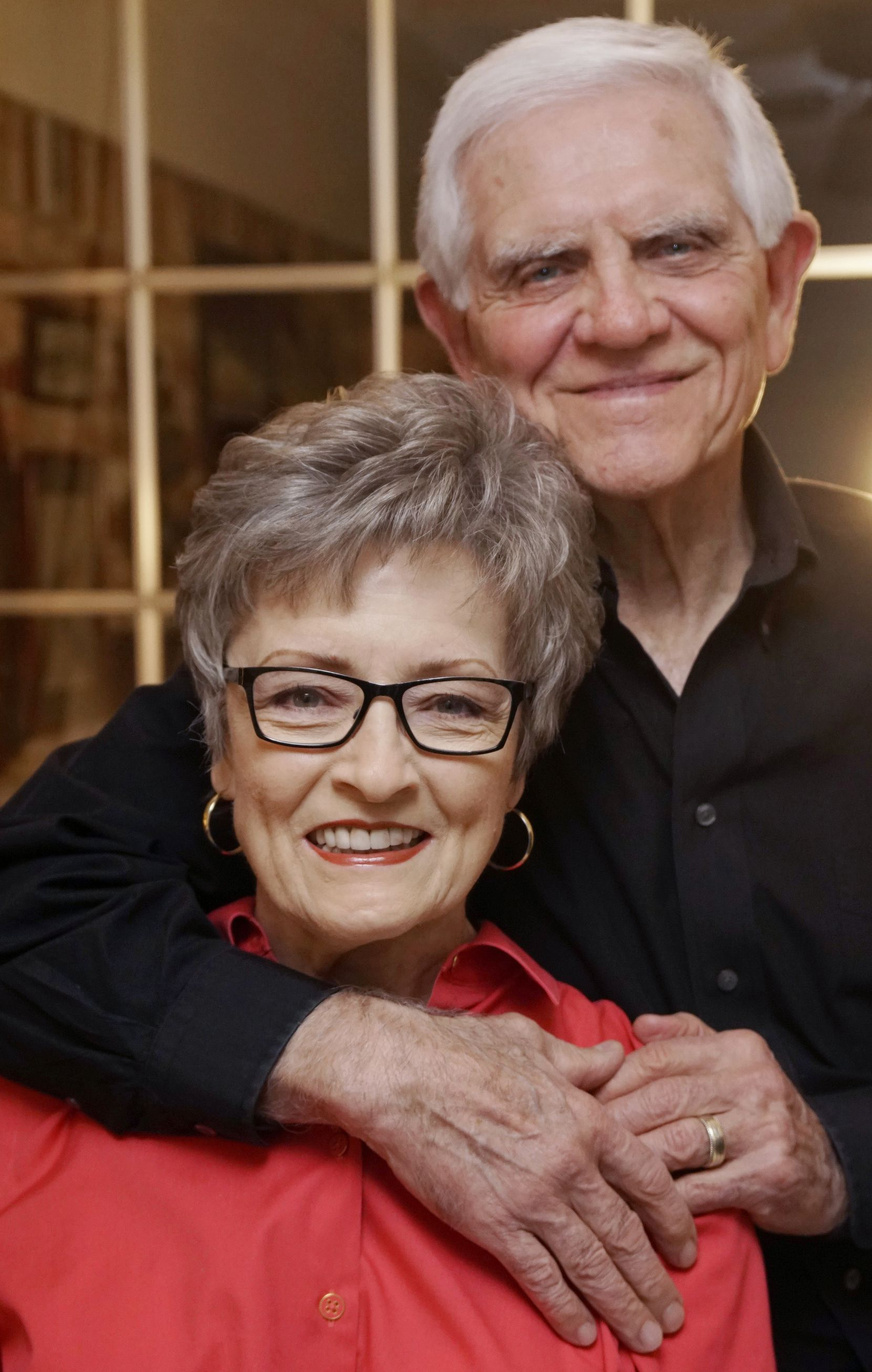 "Ken and Bonnie Watkins, who dated in high school, reconnected after her husband died. ""It was like we never parted ways,"" Ken said."