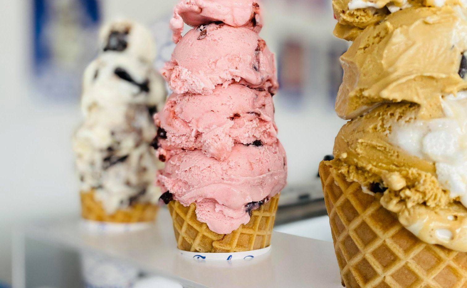 Small batches and big servings are hallmarks at Handel's Homemade Ice Cream, a growing chain that recently opened stores in McKinney and Flower Mound.