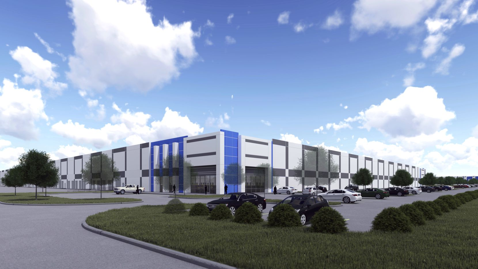 Logistics Property Co. is planning a 7-building business park in Mansfield.