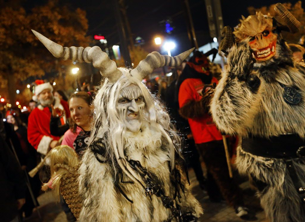 Folks dressed as Krampus will parade through Deep Ellum, starting at 8 p.m. Dec. 7 from Wits End bar.