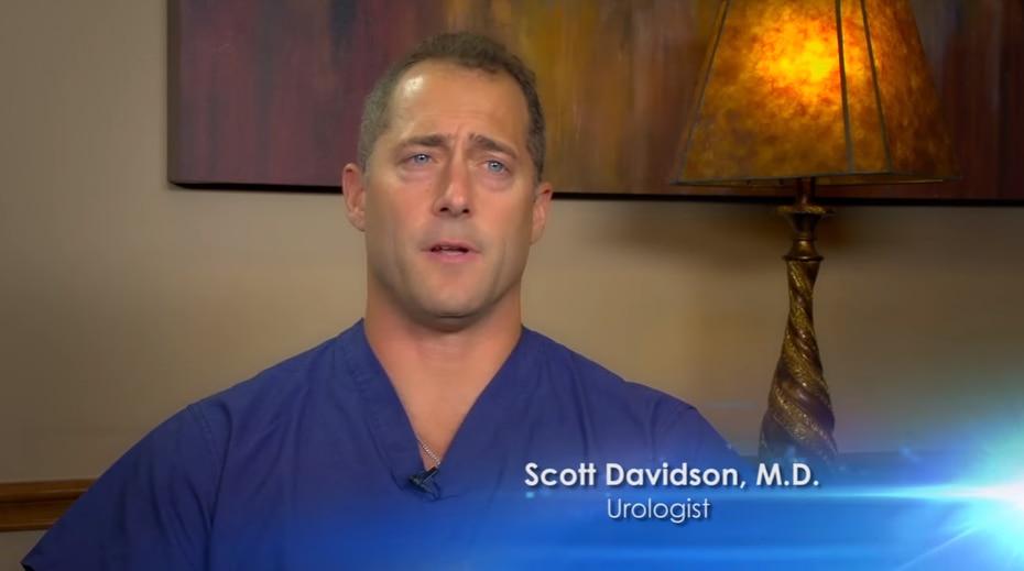 Scott Davidson was a former partner at North DFW Urology Associates.