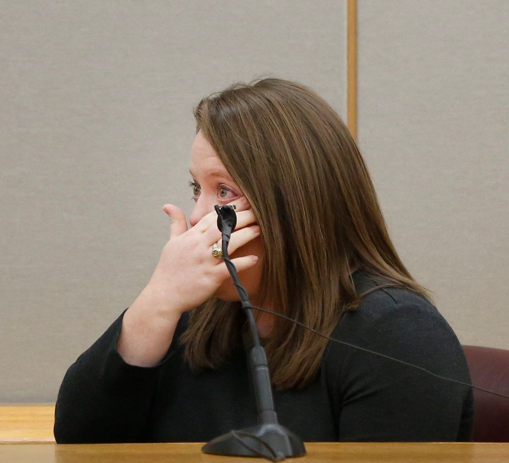 Alli Clements, Spanish teacher at Mesquite High School, testifies about Jordan Edwards during the sentencing phase of fired Balch Springs police officer Roy Oliver.