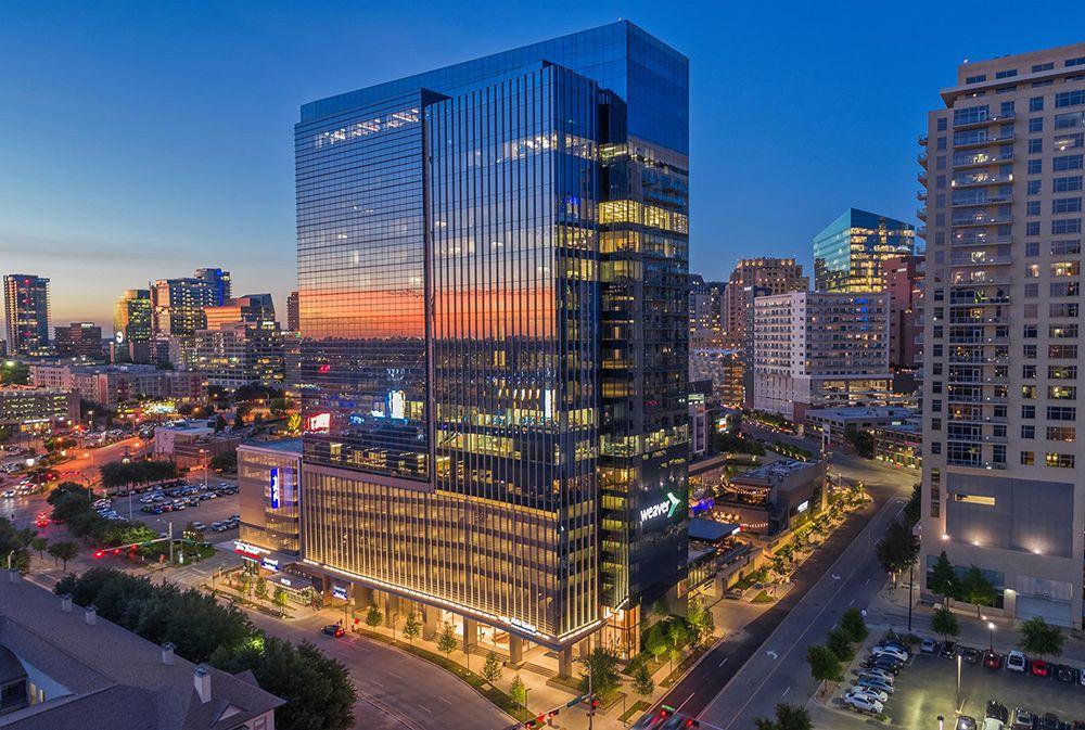 Uptown Dallas' Union development opened in late 2018.