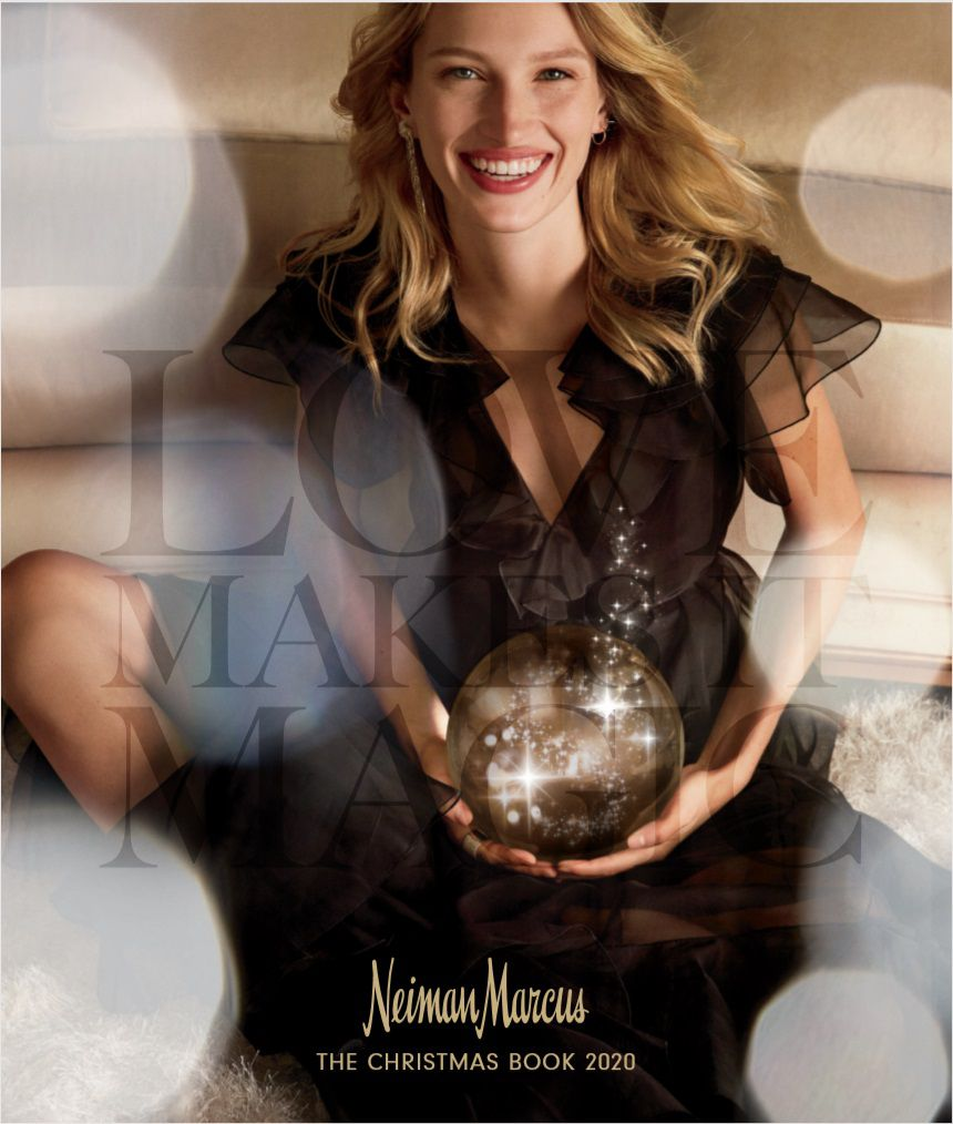 Neiman Marcus 2020 Christmas Book cover. This year s book is smaller with a total of 148 pages. To reach more customers, Neiman Marcus has increased the circulation by 100,000 to 750,000 books this year.
