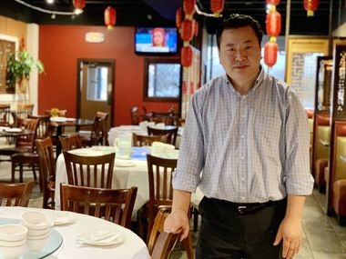 Dezmi Cao owns the Royal Sichuan restaurant in the Chinatown shopping center in Richardson.