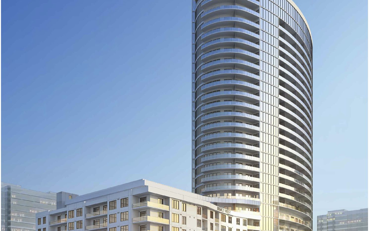 The LVL 29 apartment tower will open in 2019 in Legacy West.