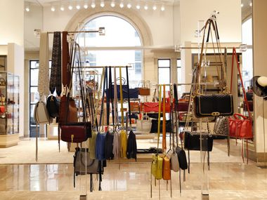 The handbag department at Neiman Marcus in downtown Dallas..