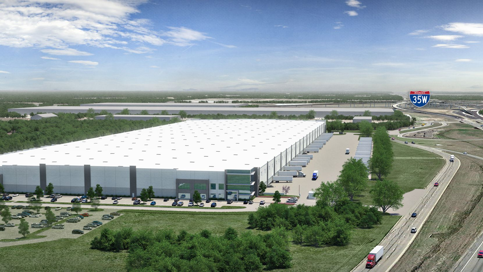 Hunt Southwest Real Estate plans to build a 1 million square foot speculative warehouse project in North Fort Worth.
