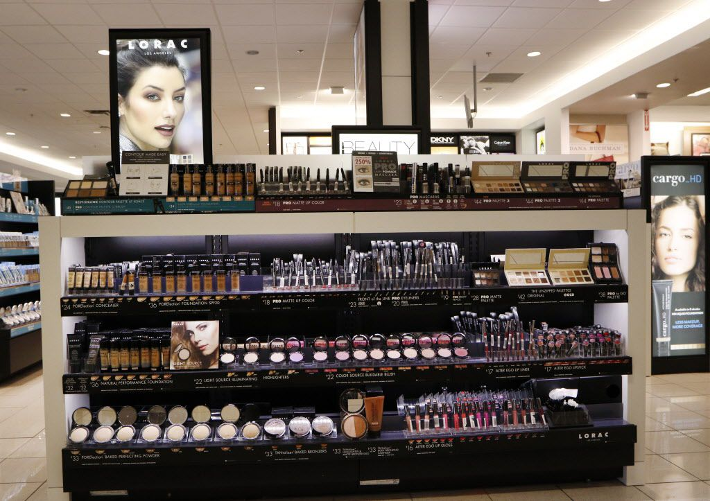 Kohl's recently completed its roll out of beauty departments in all stores, including the store in Flower Mound. Kohl's top beauty brands include Lorac, Bliss and theBalm. Photo taken on Tuesday, August 23, 2016. (David Woo/The Dallas Morning News)