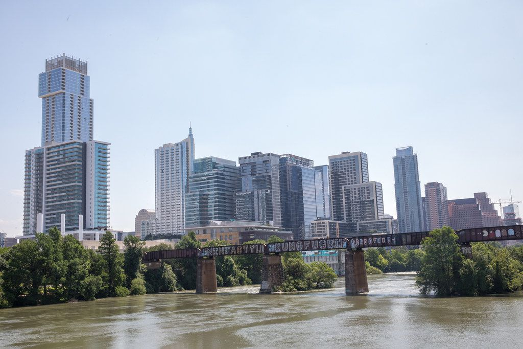 The Austin, Texas skyline on May 14, 2019.(Julia Robinson/Special Contributor)