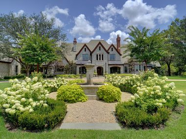 The home at 6401 Westcoat Drive in Colleyville sits on approximately 10 acres.