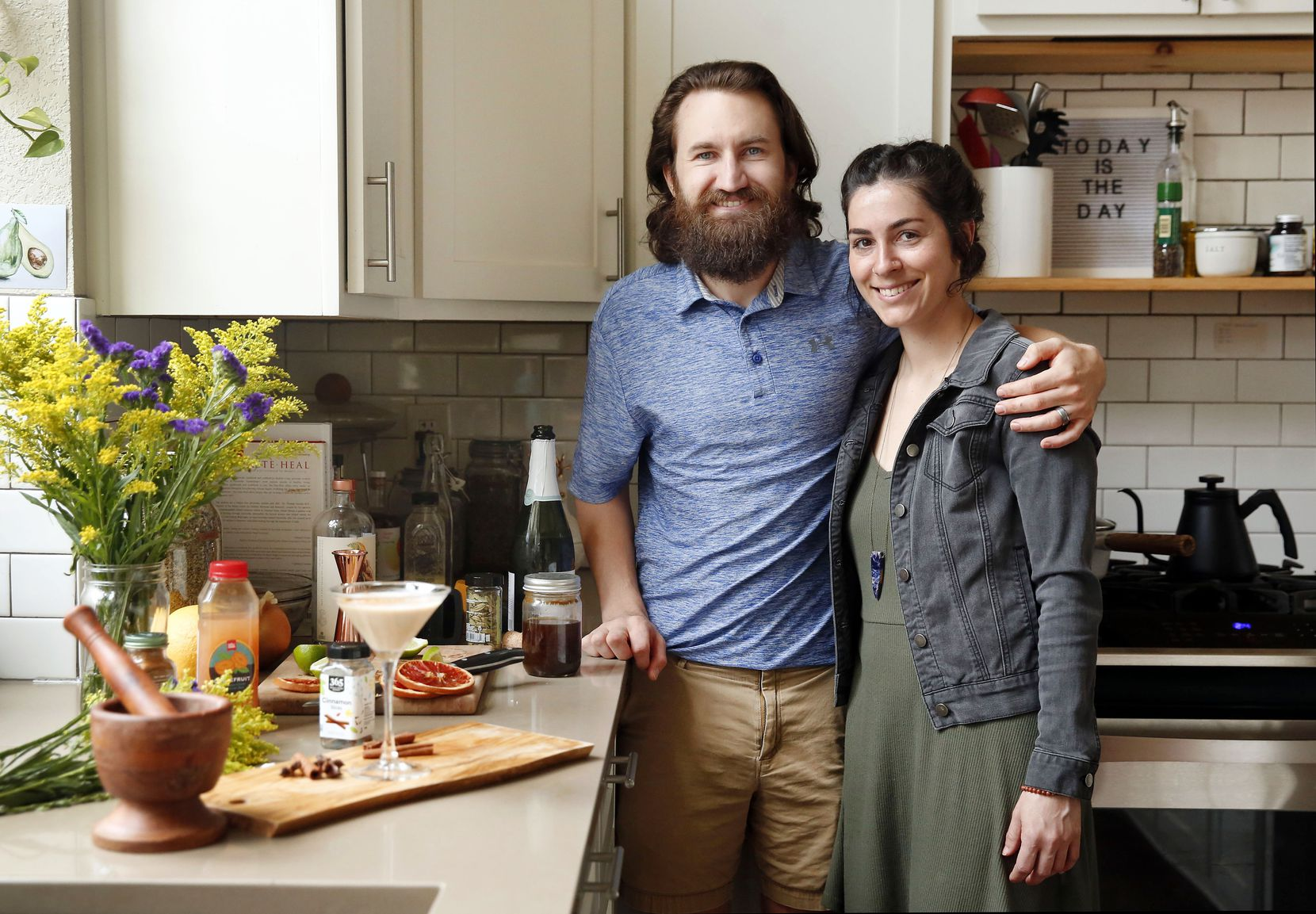 Deric and Brooklynn Cahill are the couple behind Wicked BOLD vegan chocolates, and they are about to open a new vegan restaurant with a sober bar in Flower Mound.