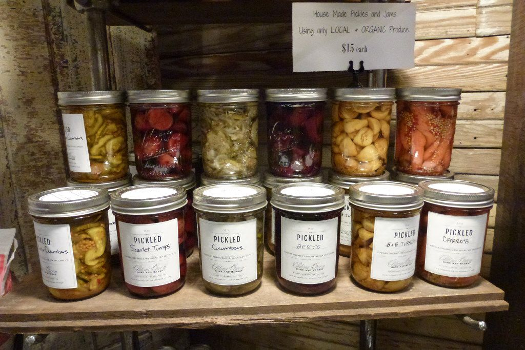 Find sumptuous jarred local goods from chef Robert Lyford at Patina Green Home and Market in McKinney.