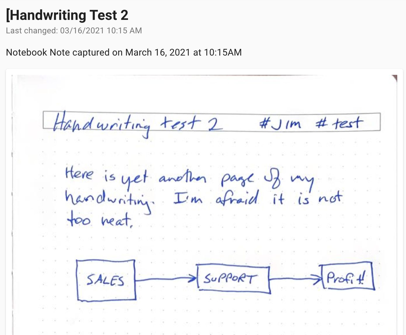 This is an example of a captured page from the Thinkers Smart Notebook shared over the web.
