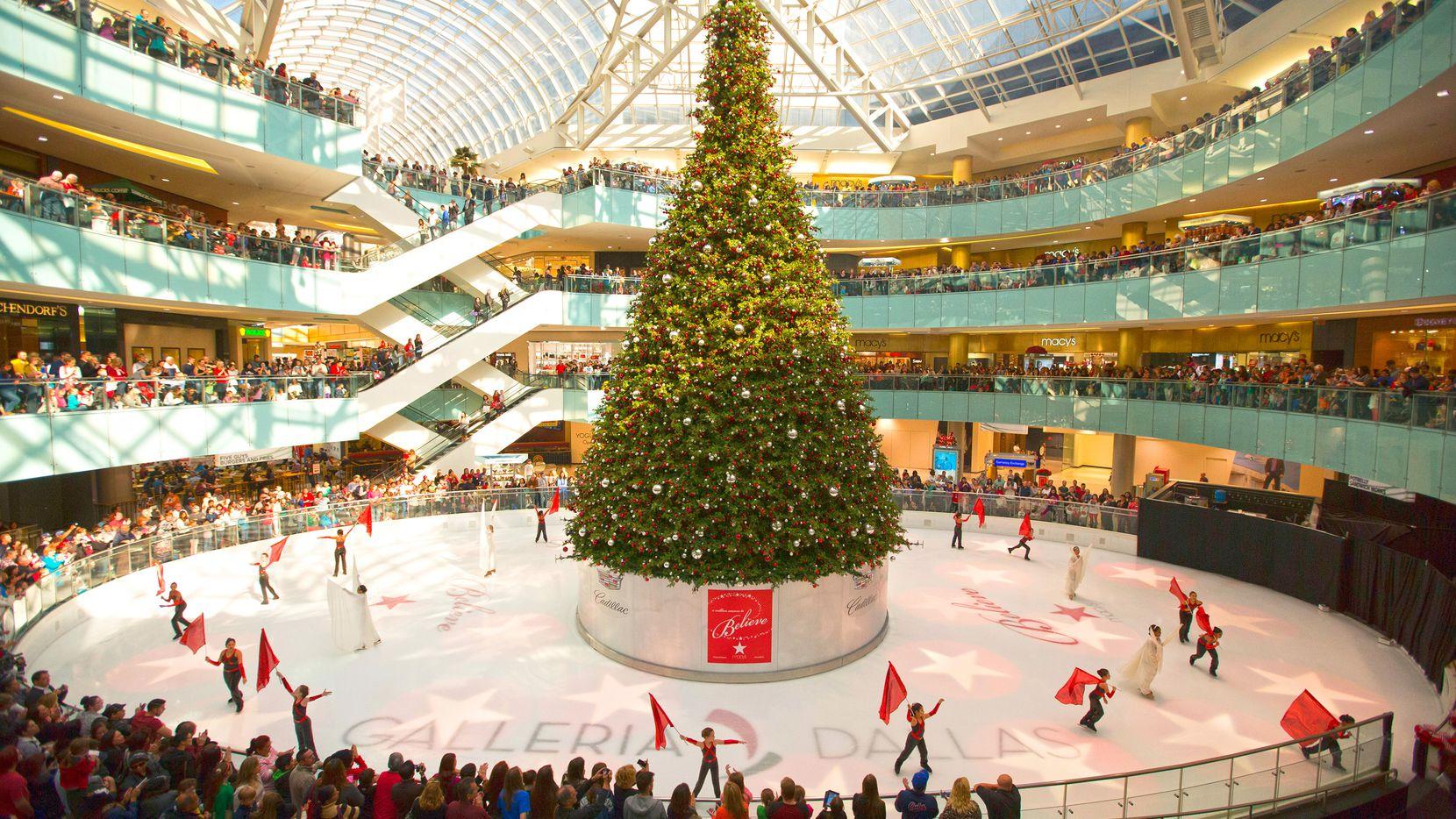 Galleria Dallas iluminará su árbol de Navidad este viernes 29 de noviembre.