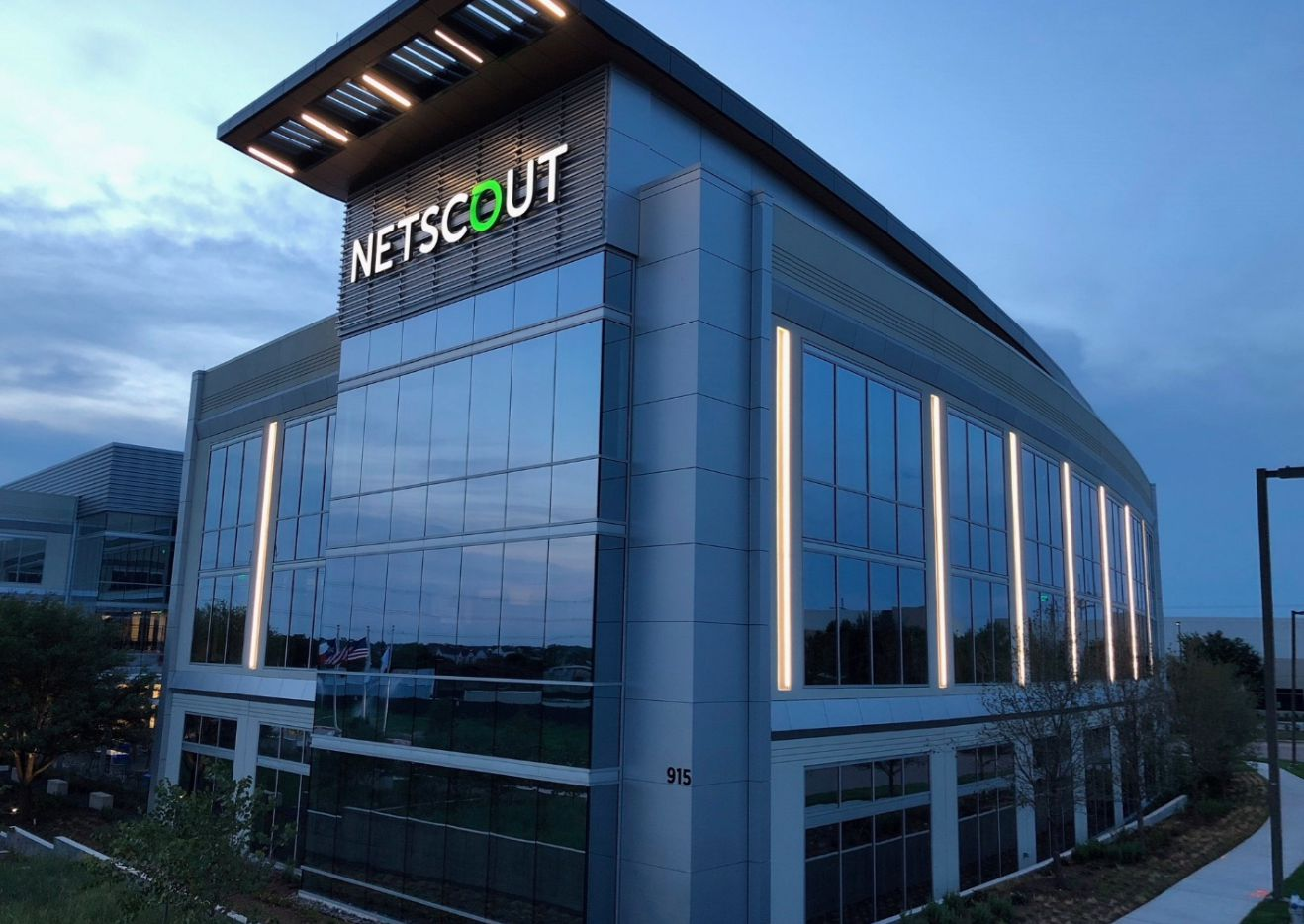 Netscout Systems has relocated to a new building on Bethany Drive near U.S. Highway 75.