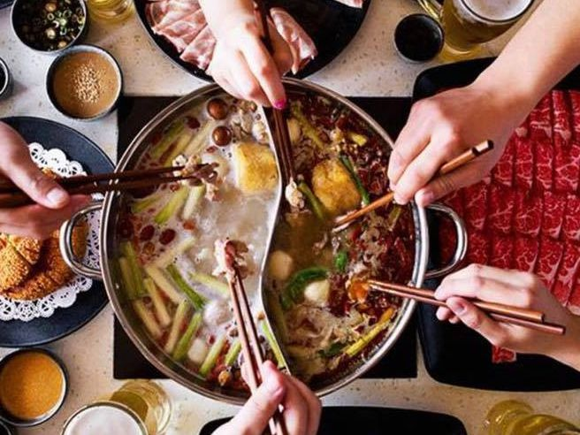 Happy Lamb Hot Pot will let you borrow a gas stove and a pot in which to cook to-go orders.