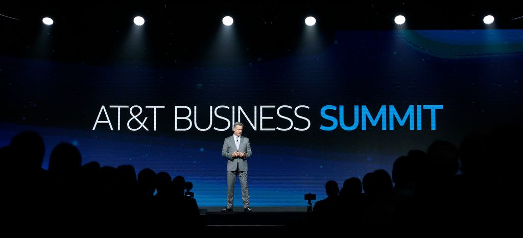Robert Tercek delivers the Keynote: Five Trends That Will Shape the Future of Digital Services during the AT&T Business Summit at Gaylord Texan Resort & Convention Center in Grapevine.