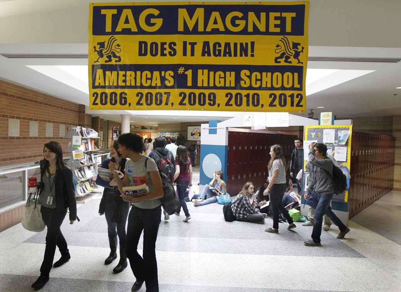 Las solicitudes para nuevas escuelas TAG cierran el 18 de marzo. (DMN/MICHAEL AINSWORTH)