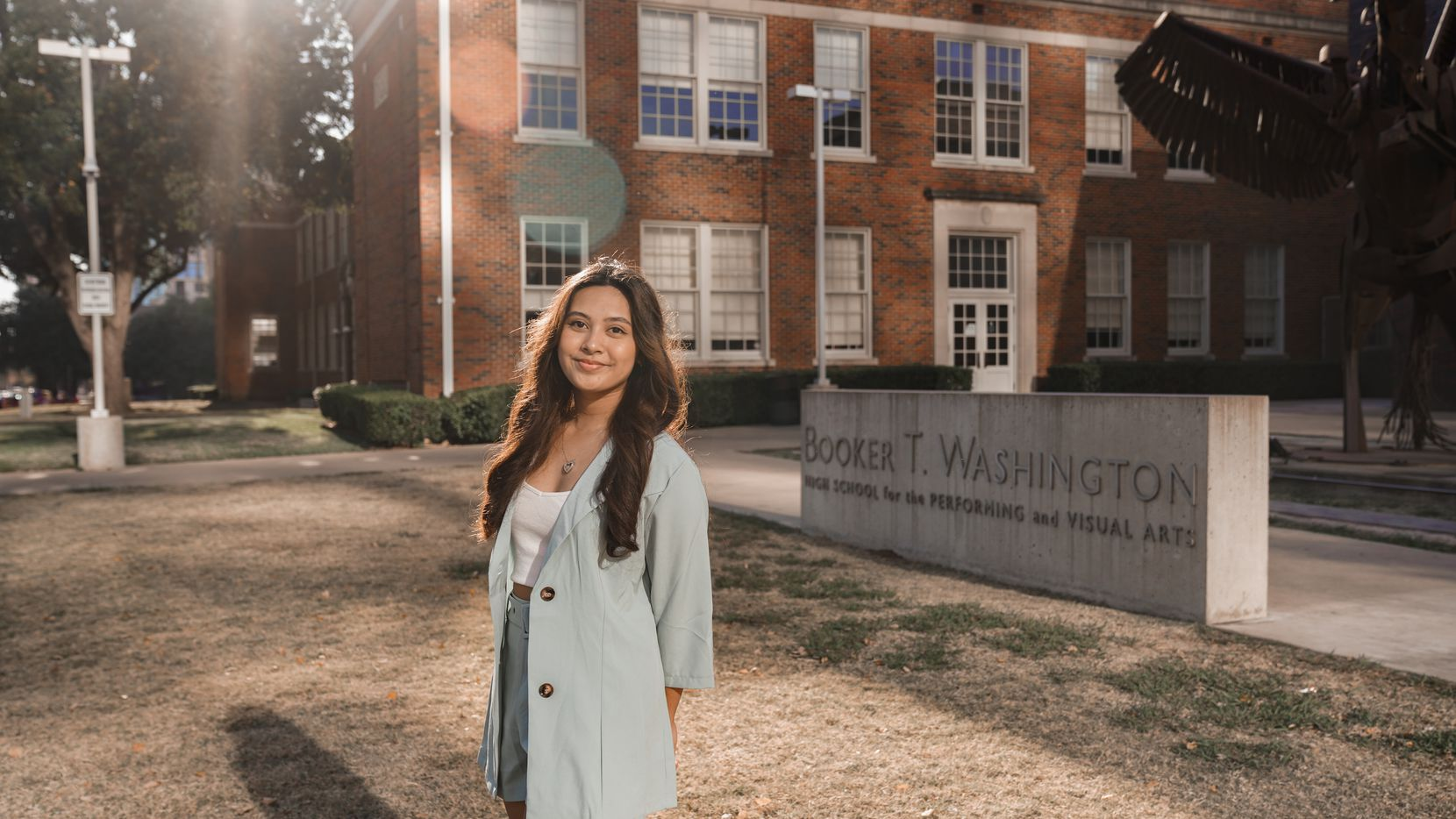 "As the winner of a national musical theater songwriting contest, 17-year-old Xyzsa Pagaduan got to see her song, ""Left-over Love,"" given the Broadway treatment. Pagaduan is a senior at Booker T. Washington High School for the Performing and Visual Arts."