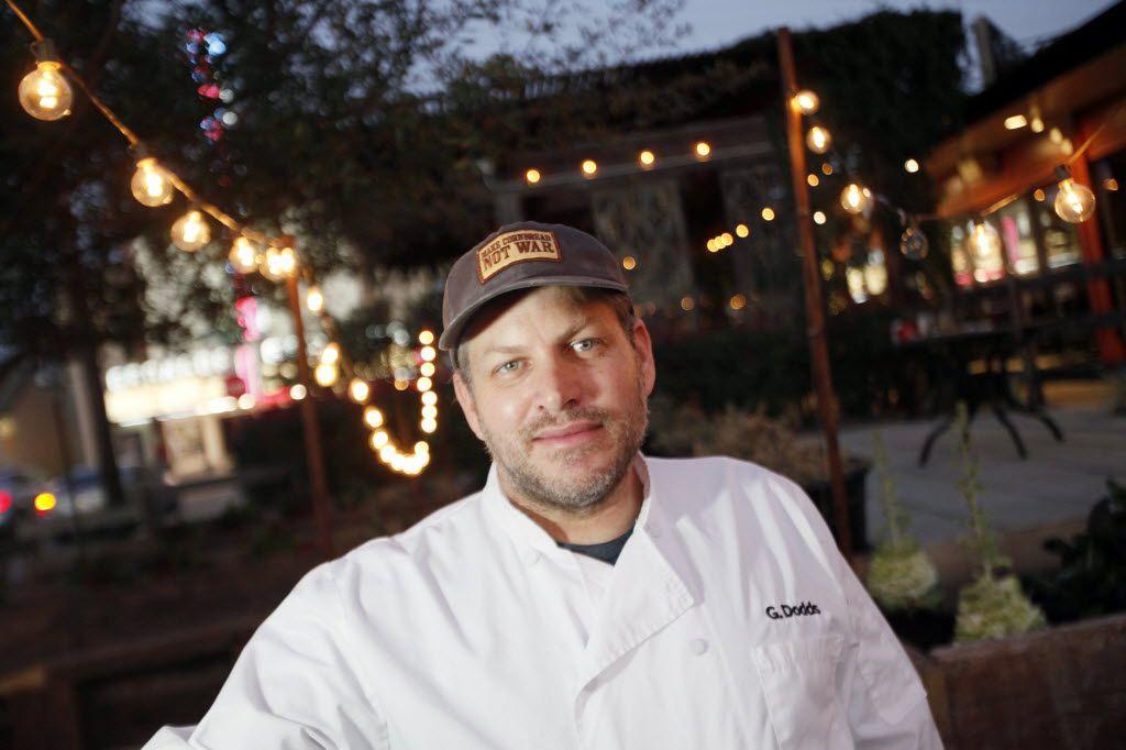 Chef-owner Graham Dodds