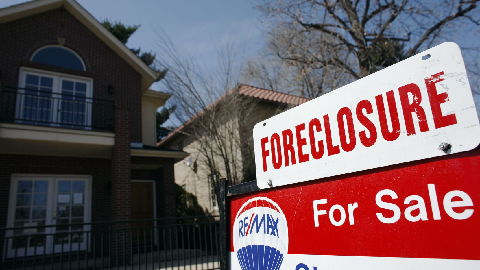 Dallas-area foreclosures are way down due to the coronavirus pandemic, but two North Texas men who lost their homes to lenders are fighting back in court.