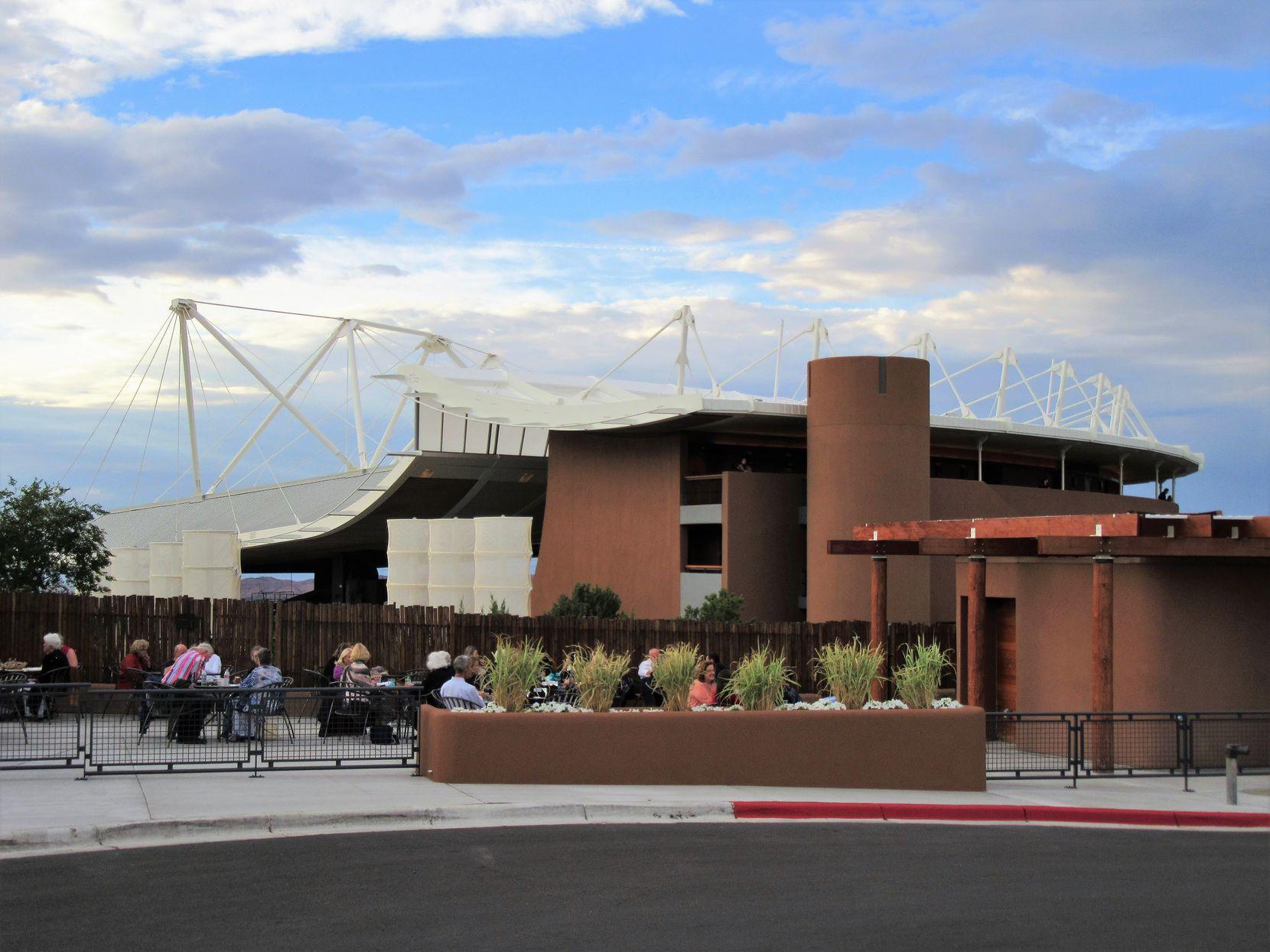 The Santa Fe Opera's Crosby Theatre (Scott Cantrell/Special Contributor)