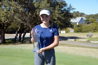 Jenna Madden of McKinney overcame a two-shot deficit in the final round to win the Jimmy Demaret Junior Classic at Lakeway Country Club by three shots. Madden won her first Legends Junior Tour event after carding a final round 2-over 74 on Sunday for an 8-over 152 at the Live Oak Course to win the girls 12-18 division.