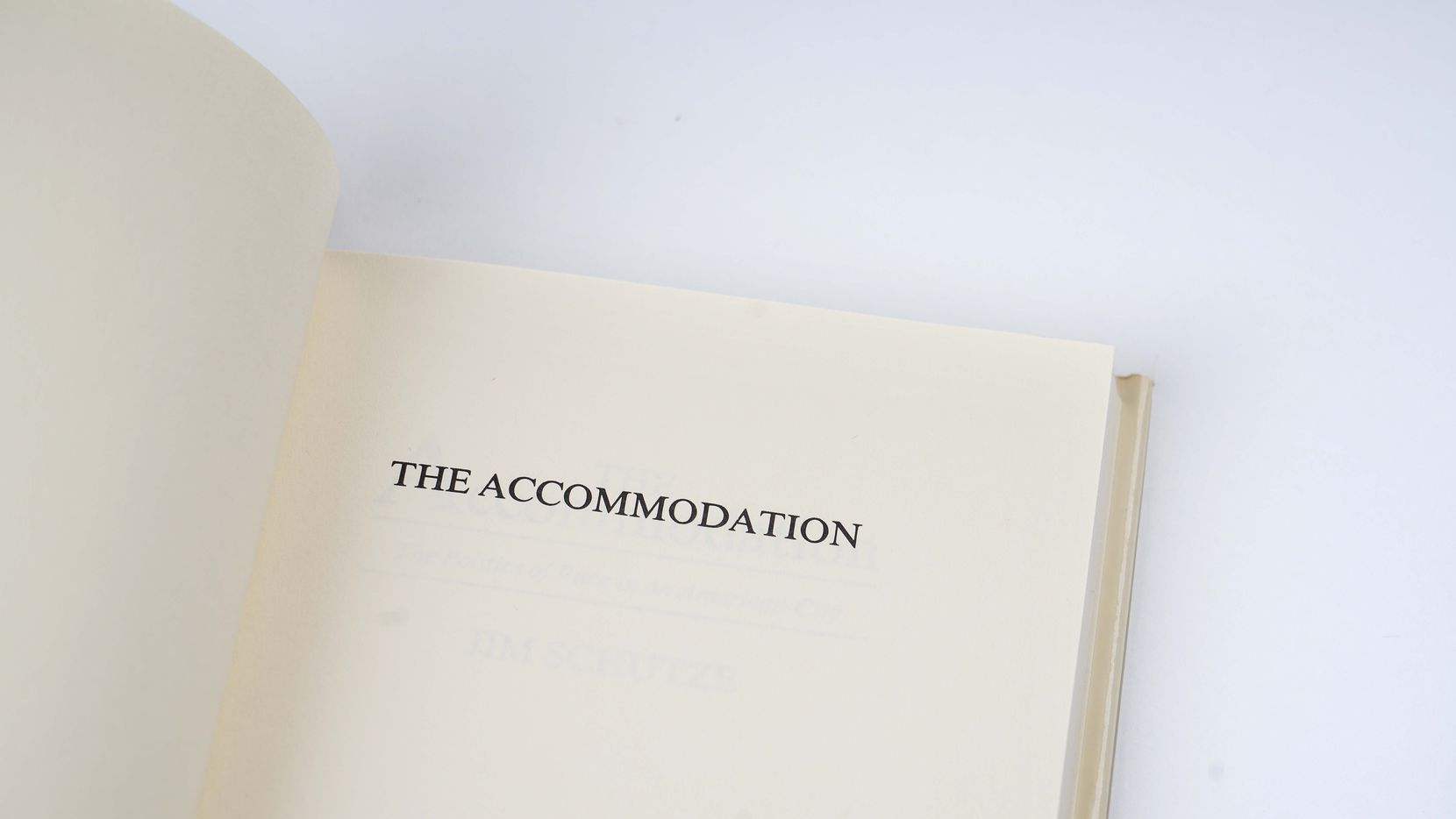 'The Accommodation,' by Jim Schutze, photographed on June 25, 2020.