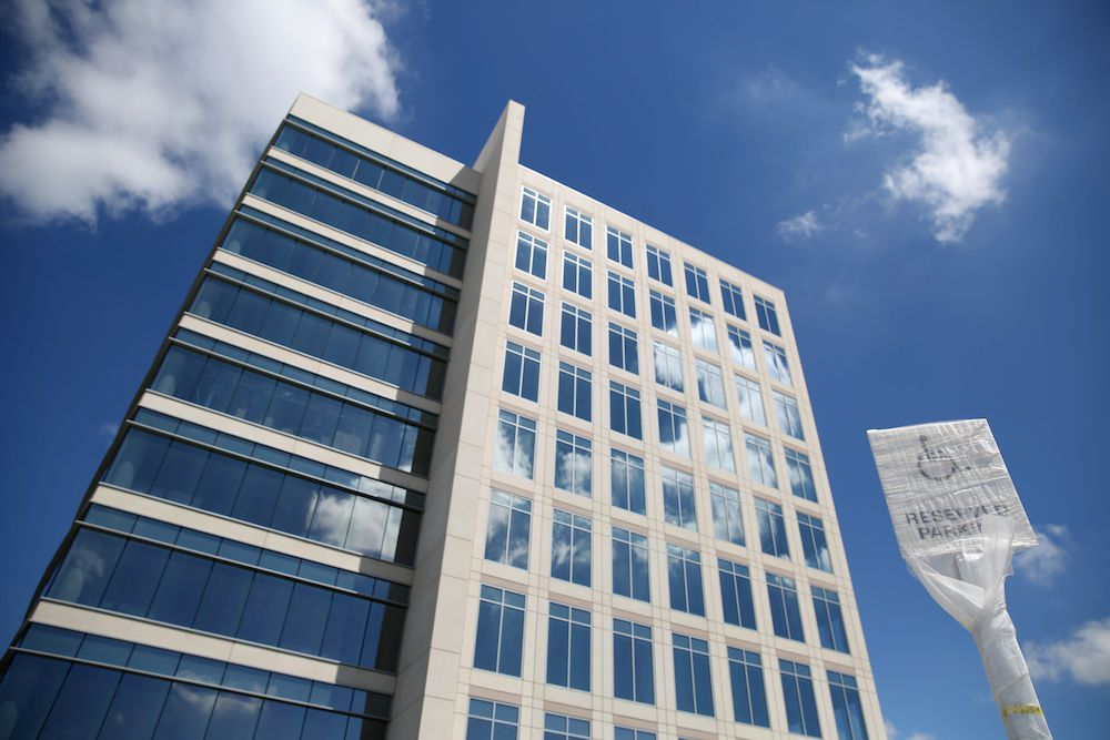Altice USA is renting three floors of office space in the Granite Park V office tower in Plano near the southeast corner of the Dallas North Tollway and S.H. 121.
