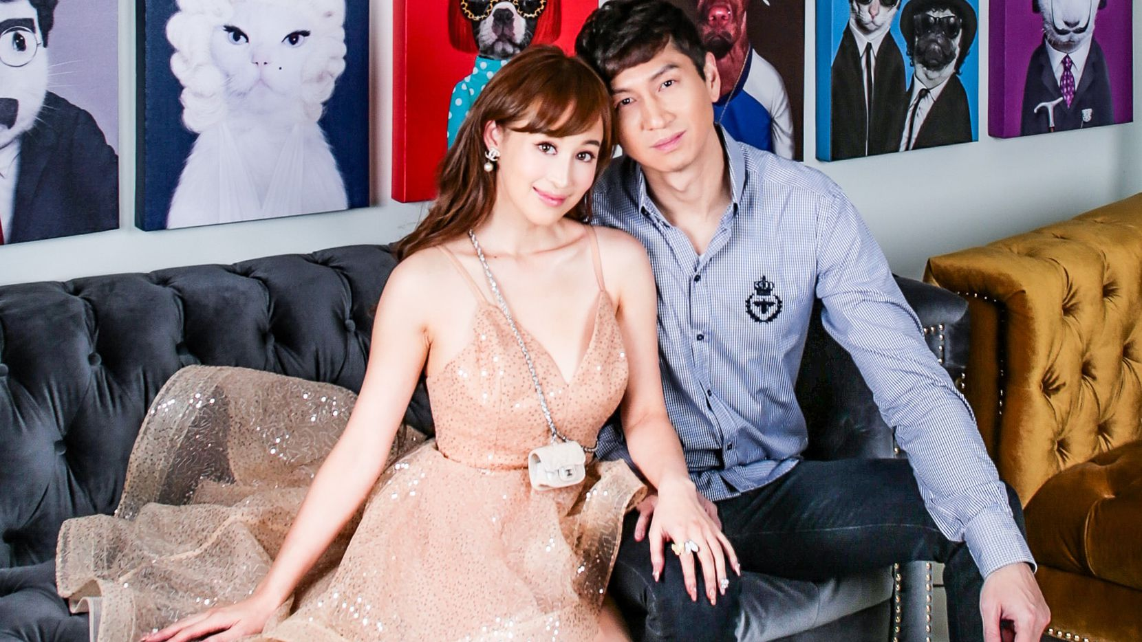 Jessey Lee of Frisco and his fiancee Cherie Chan are among the stars of a new Netflix series called Bling Empire. It's described as the real-life version of the movie Crazy Rich Asians.