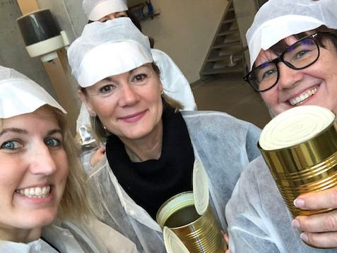 Dallas woman Katie Arterburn, who is general manager at The Old Monk, traveled to Belgium to make a beer in early 2020 for International Womens Day. The trip included a two-day brewing process.