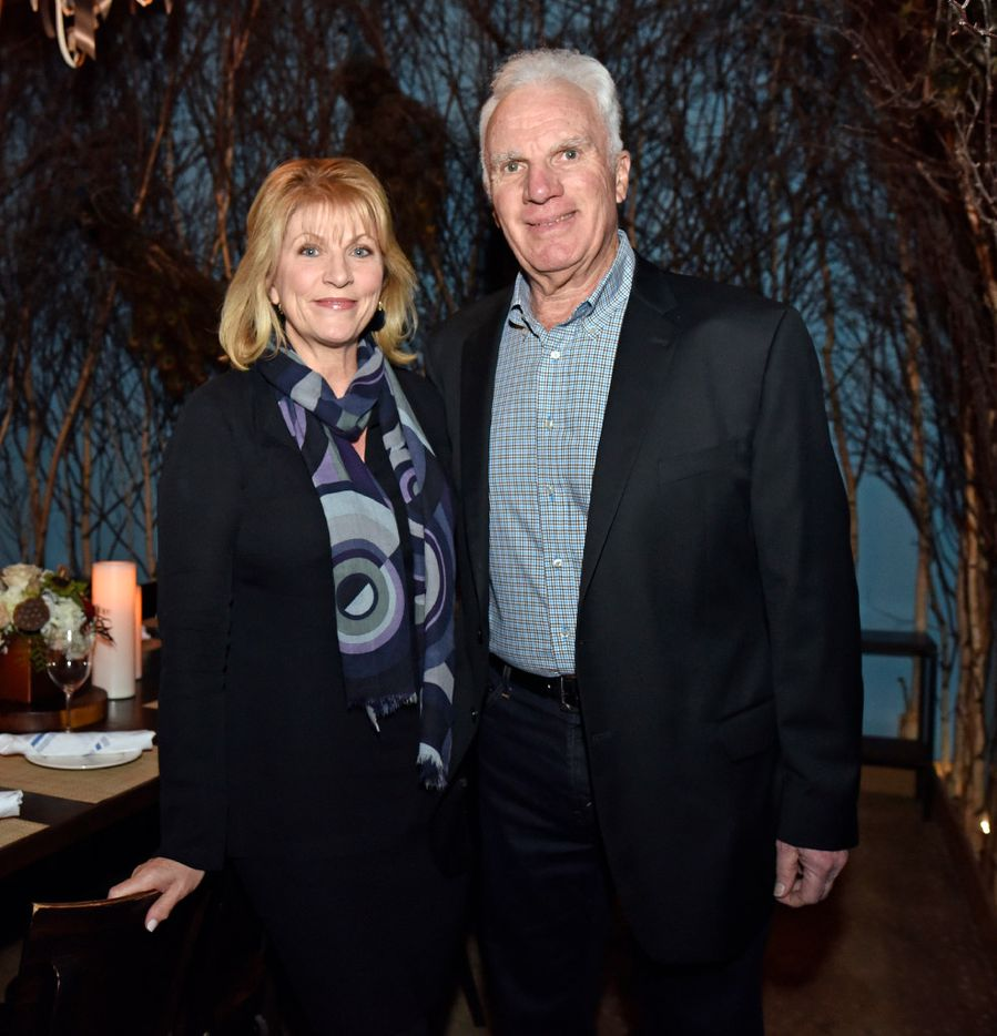 Marion Glazer, left, and Bennett Glazer of Southern Glazer's at a relaunch party for Tillman's Roadhouse restaurant in Bishop Arts, on Tuesday, Jan. 10, 2017 in Dallas. Ben Torres/Special Contributor