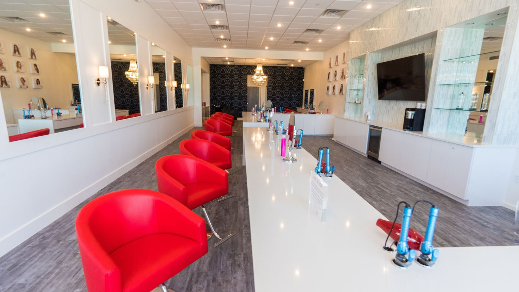 Cherry Blow Dry Bar Arlington will open in late July and offer blowouts, hair extensions, hair trimming, makeup applications, lash extensions and scalp massages.